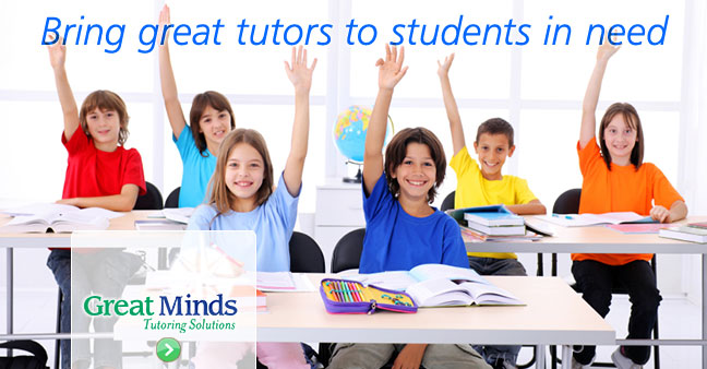 Great Minds - Bring great tutors to students in need